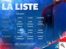lista lojtareve francez